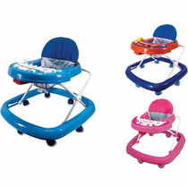 Andador Musical Bonpoint 8 Rodas Pronta Entrega Azul Menino