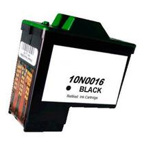Cartucho Tinta Compatível Lexmark 10n0016 9ml Preto - X1185