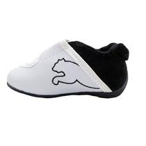 Tenis Puma Infantil Masculino Bebê Preto E Branco!!!