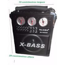 Caixa Som Amplificada Mp3 Usb Cartão Sd Radio Am/fm Pendrive