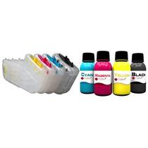 Bulk Ink Compativel Hp Pro 8000 8500 K8600 K550 400ml Tintas