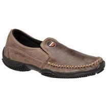 Sapato,mocassim, Sapatilha, Couro, Tchwmshoescombr