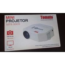 Mini Projetor Led Av Sd Usb Tomate Mpr 9009 Promoção !!!