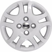 Calota Aro 14 Fiesta Class Sedan/hatch Emblema Ford Alumínio