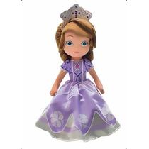 Boneca Princesa Sofia Encantada Musical Disney Frte Gratis