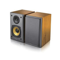 Caixa De Som Edifier R1000 T4 - 24w Rms - Novo - Cor Madeira