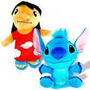 Lote 2 Pelucias Lilo E Stitch Da Disney Super Fofos