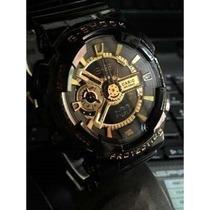 Relógio G-shock Blackgold Automatico Ga110 - Frete Gratis