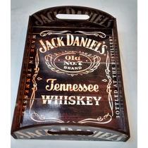 Bandeja Servir Decorar Bar Churrasco Whisky Jack Daniel