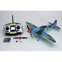Mini Aviao Nine Eagles Spitfire Radio 2.4gh Completo Rc