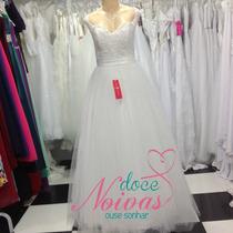 Vestido Noiva Debutante Princesa Eloisa Pronta Entrega