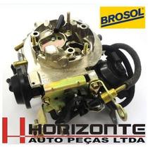 Carburador 3e Opala Caravam C20 6cc À Alcool Solex Brosol
