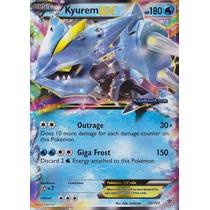 Carta Pokemon Kyurem Ex Plasma Blast Inglês