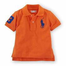 Camisa Polo Infantil Big Pony Ralph Lauren Importado Origina