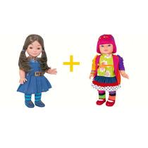Kit Boneca Chiquititas Mili E Laura 42 Cm - Cotiplás