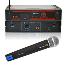 Sjf Microfone Sem Fio Uhf 16 Canais Ar-wx-2160-1 Mic Mao