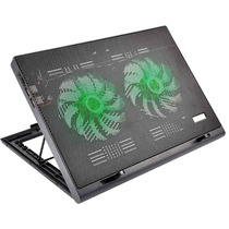 Power Cooler Duplo Gamer Para Notebook Led Multilaser Ac267