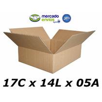 50 Caixas De Papelão 17 X 14 X 05 Tipo 1p Correio Pac Sedex