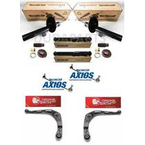 04 Amortecedores + Kits Peugeot 206/207 - Axios Birth Monroe