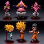 Pacote C/ 6 Bonecos Dragon Ball Z Para Coleção Disponível