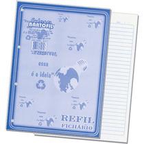 Caderno Escolar 4 Furos 100 Folhas Argolado - Pct. 10