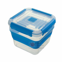 Kit 12pçs Pote Retratil Silicone Multi-uso, Não É Tupperware