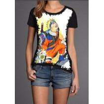 Camisa Roupas Naruto Shippuden Akatsuk Anime Barata Pv