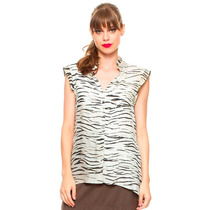 Camisa Feminina Seda Tipo Regata