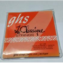 Encordoamento Ghs La Classique Cordas Nylon Violão Clássico