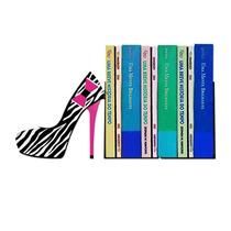 Suporte Aparador De Livros Cds Dvds Sapato Deu Zebra