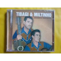 Cd Tibagi & Miltinho / Grandes Sucesso / Frete Grátis / Novo