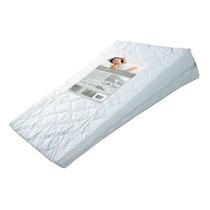 Travesseiro Anti-refluxo Em Percal C Ziper Impermeavel, 60x8
