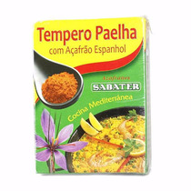 Kit 3 Unidades De Tempero Para Paelha - Paella Sabater 12g