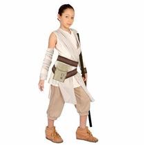 Fantasia Rey Star Wars Episódio Vii - Tamanho M - 6 A 8 Anos