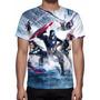 Camisa, Camiseta Filme Capitão América Guerra Civil - Mod 02