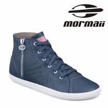 Tênis Botinha Mormaii Arizona Couro Leather 306100