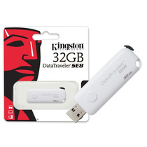 Pen Drive Usb 2.0 Kingston Dtse8/32gb 32gb Branco
