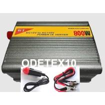 Inversor 800w Transformador Conversor Veicular 12v Para 110v