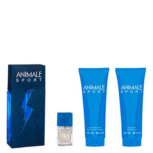 Animale Sport Eau De Toilette Animale - Kit 4 Itens