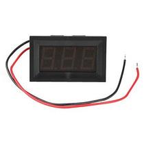 Voltímetro Digital Lcd Automotivo 4,5~30v Bateria Fonte + Nf