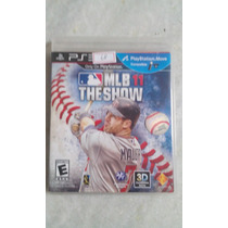 Jogo Sony Ps3 Mlb 11 The Show - Baseball Original
