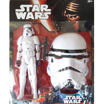 Bonecos Star Wars Com Máscara 29 Cm Darth Vader Stormtrooper