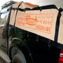 Lona Encerado Premium 12x7 Ripstop Areia Caminhão Graneleiro