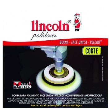 Boina Face Unica Velcro Corte 3,5 - Lincoln