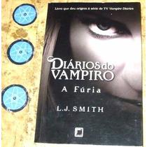 Livro Diarios Do Vampiro A Furia - L J Smith (1991)