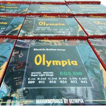 Cordas P/guitarra - 009 - Olympia - 03 Jogos - Promoção !!