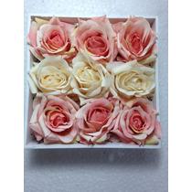 Arranjo De Rosas Artificiais 30 Rosas No Vaso