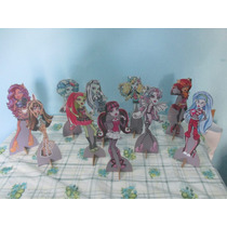 Monster High De Mesa,display,festa Infantil,mdf