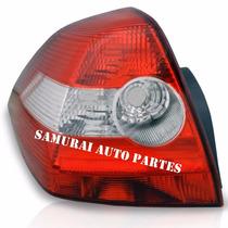 Lanterna Megane Sedan 2006 2007 2008 2009 2010 Esquerdo