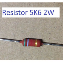Resistor 4r7 2w * 4.7 Ohms 2w * Pacote C/ 100 Peças *